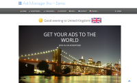 AD MANAGER PRO - PHP AD SERVER Script [Ad Network Script, Ad Server Script in PhP Best Script in 2013]